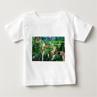 Jungle Safari Concert Baby T-Shirt