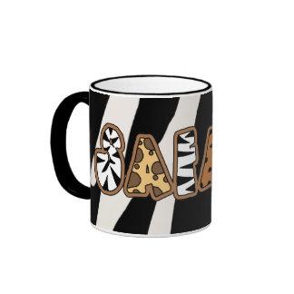 Jungle Safari Theme Coffee Cup Mug