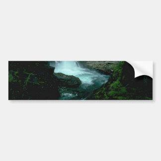 Jungle Water Bumper Sticker