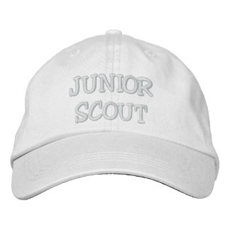 JUNIOR SCOUT EMBROIDERED HATS
