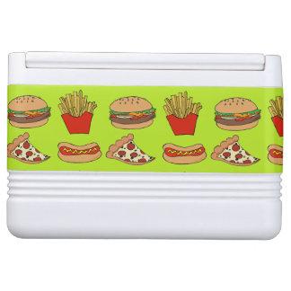 junk food cooler chilly bin
