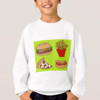 Junk food design sweatshirt