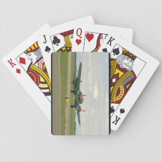 Junkers JU88 On Runway._WWII Planes Playing Cards