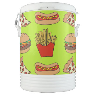 Junkfood igloo cooler