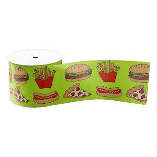 Junkfood ribbon grosgrain ribbon