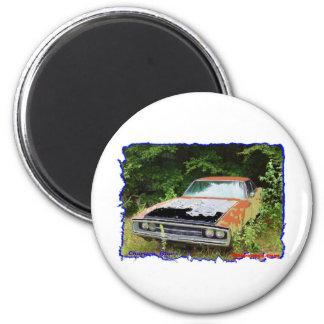 JunkYard Charger Blues 6 Cm Round Magnet