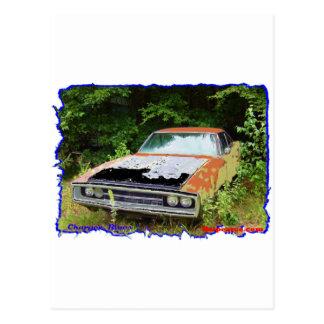 JunkYard Charger Blues Postcard