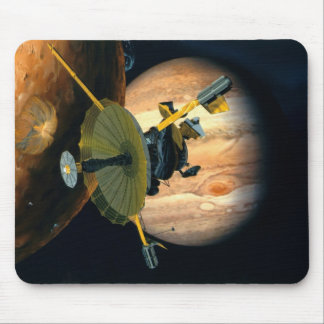 Jupiter and Lo Galileo probe Mouse Pad