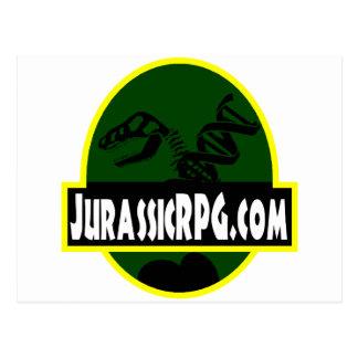 JurassicRPG.com Postcard