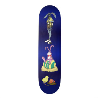 Jus Chillin' Easter: Bunny, Cool Dude and Chick 20.6 Cm Skateboard Deck