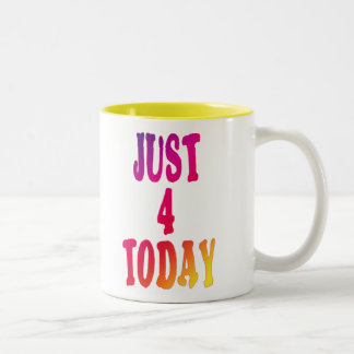 just4today Two-Tone coffee mug