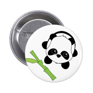 Just a Bite of Bamboo Pinback Buttons