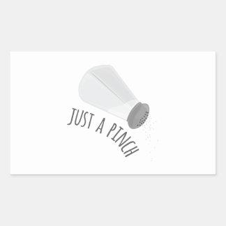Just A Pinch Sticker