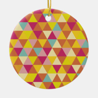Just abstract round ceramic decoration