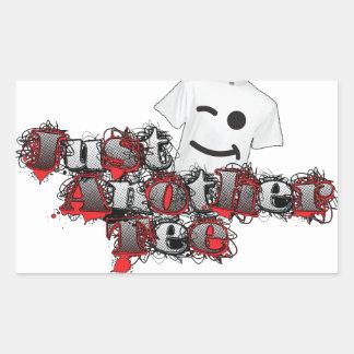Just Another Tee 2014 Logo Rectangular Sticker