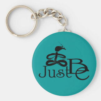 Just Be 8 Key Ring