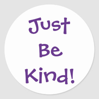 Just Be Kind Sticker Sheet