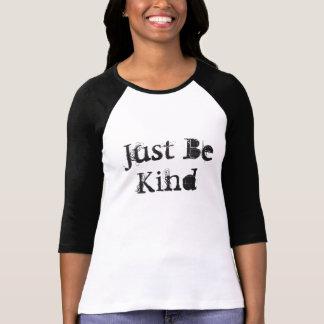 Just Be Kind Woman's Raglan Shirt