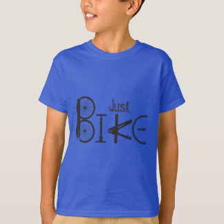 """Just Bike"" Graffiti from Bike Parts T-Shirt"