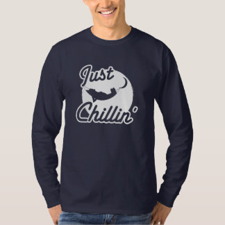 Just Chillin Long Sleeve Men's T-Shirt