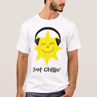 Just Chillin' Sun With Headphones T-Shirt