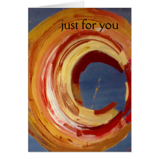 Just for You, Greeting Card, envelopes included Greeting Card