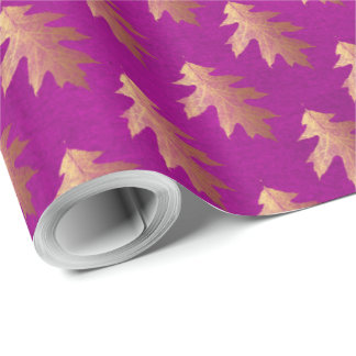 Just for You Made with Love Pink Gold Wrapping Paper