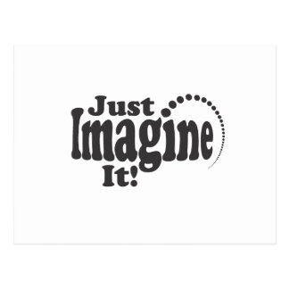 Just Imagine It! - Dots Postcard