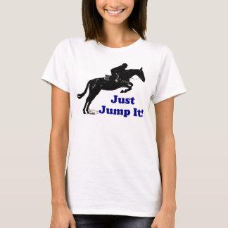 Just Jump It Equestrian T-Shirt