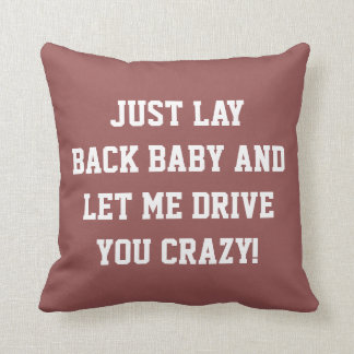 Just Lay Back Baby Cushion