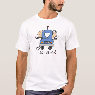 Just Married Bride and Groom T-shirts and Gifts