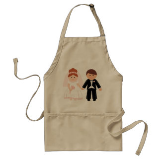 Just Married Couple Apron