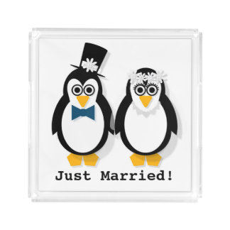 """""""Just Married!"""" Perfume Tray"""