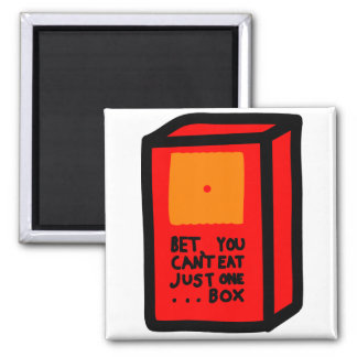Just One Box Square Magnet