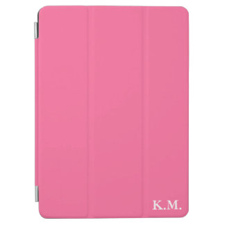 Just Pink Monogram iPad Air Cover