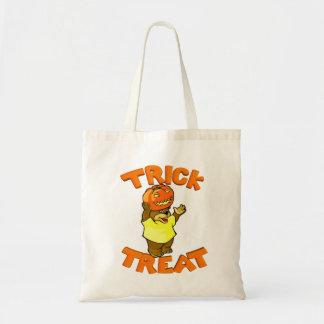 Just Too Cute Bear Balancing Pumpkin On Its' Head! Canvas Bag