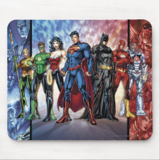 Justice League | New 52 Justice League Line Up Mouse Pad