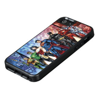 Justice League | New 52 Justice League Line Up OtterBox iPhone 5/5s/SE Case