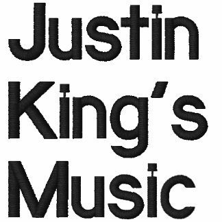 Justin King's Music Embroidered Hoody