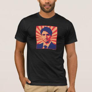Justin Trudeau Propaganda Poster -.png T-Shirt