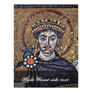 Justinian I, San Vitale (Ravenna) Choir Mosaics A Flyer