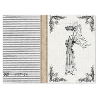 Jute Ticking Dress Form Fairy Tissue Tissue Paper
