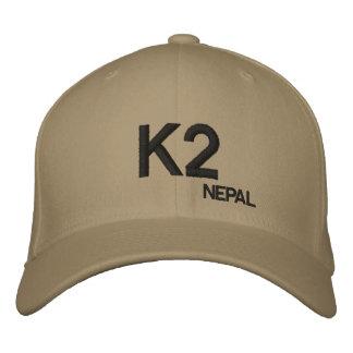 K2 Mountain Nepal Custom Hat Embroidered Baseball Cap