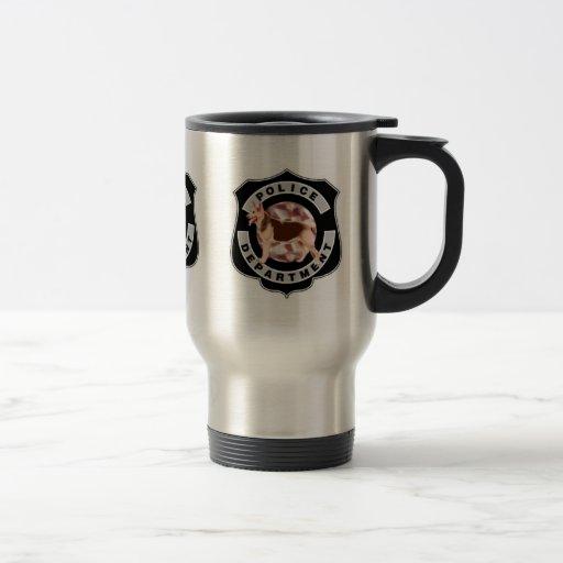 K9 Police Coffee Mugs