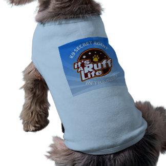 K9 Secret Agent in Training Doggie Tank Top L Dog Clothes