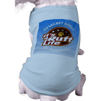 K9 Secret Agent in Training Doggie Tank Top XL Pet Tshirt