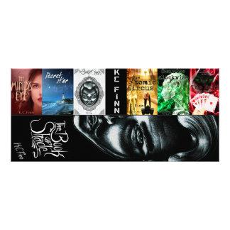 K.C. Finn new double bookmarks Rack Card Template