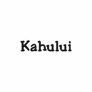 Kahului Maui Hawaii Embroidered Polo Shirt