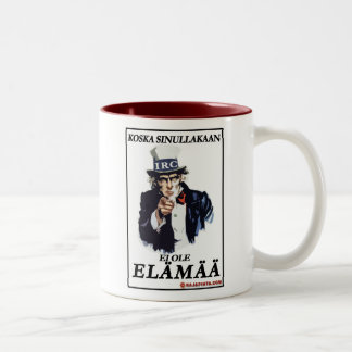 Kahvinpidikkeen paluu Two-Tone mug