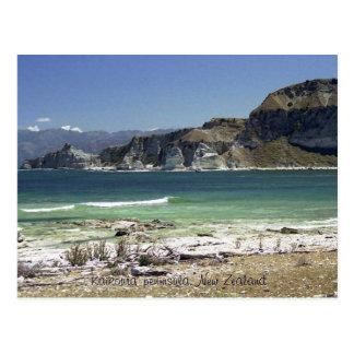Kaikoura' peninsula, New Zealand Postcard
